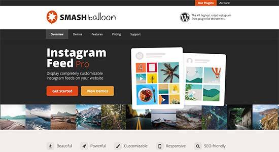 Smash Balloon Instagram Feed