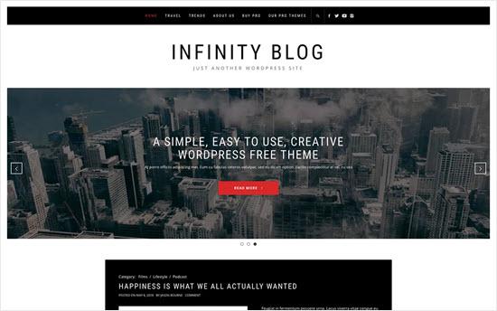Infinity Blog