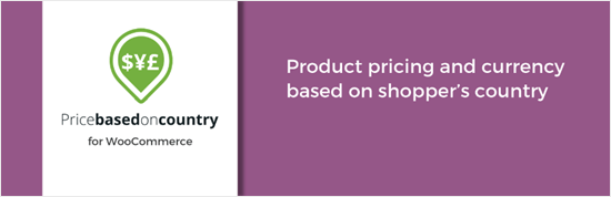 WooCommerce Price Based On Country plugin