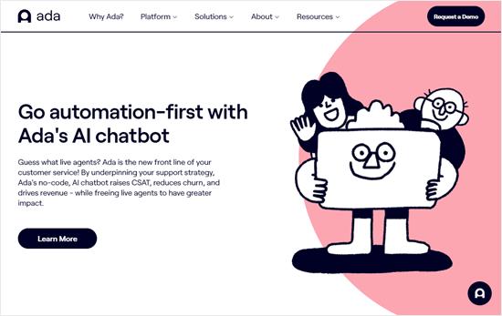 The Ada website