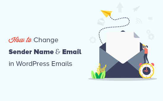 Changing sender name and email address in outgoing WordPress emails