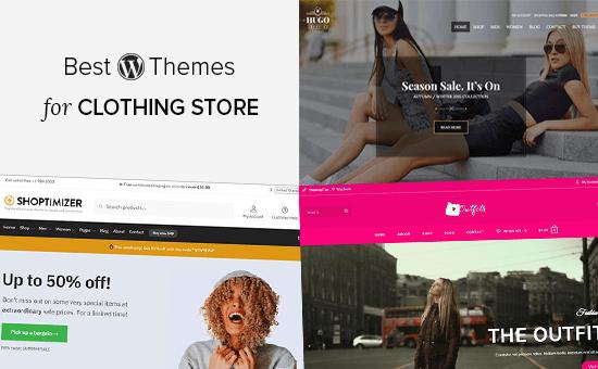 Best Clothing Store WordPress Themes