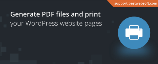 PDF and Print by bestwebsoft
