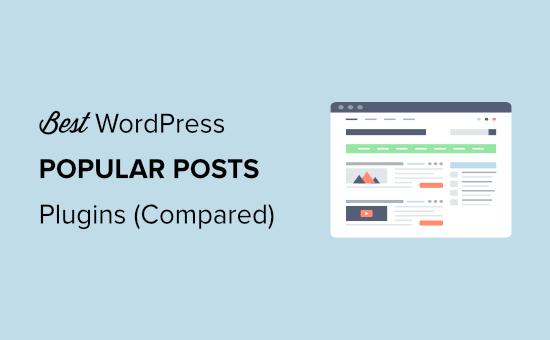 best popular post plugins for wordpress