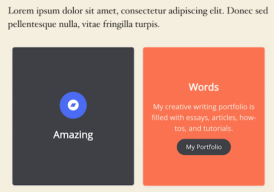 Flipbox live WordPress display