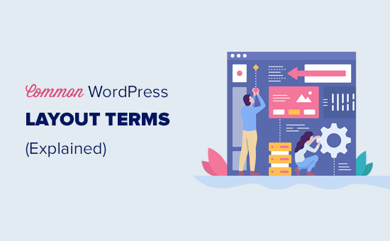 Explaining the common WordPress layout terms for beginners