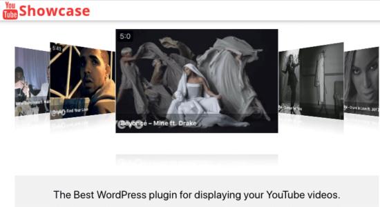 YouTube Showcase plugin